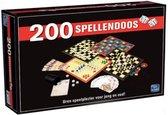 Spellendoos - Spelletjes - Bordspel - Game - Games - Spel - 200 spellen - Dobbelspel - Actiespel - Kaartspel
