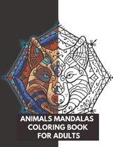 Animals Mandalas Coloring Book For Adults