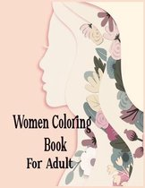Women Coloring Book For Adult