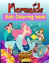 Mermaids Kids Coloring Book