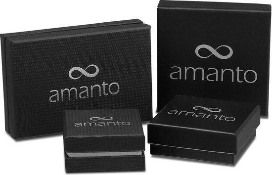 Amanto Manchetknopen Atour  - 316L Staal - Muziek - Gitaar - 32x11mm - Amanto