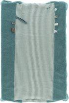 Snoozebaby aankleedkussenhoes Happy Dressing van organic katoen - 45x70cm - Smokey Green groen