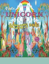 Cute Unicorn Activity Book for Girls ages 8-12