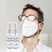Anti Condens Spray Bril | Anti Fog Spray Bril | Antidamp | Tegen beslagen van bril |Geschikt voor mondkapje met BRIL | 30 ml