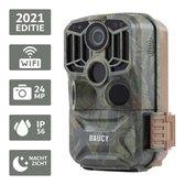 Baucy M601 Wildlife Camera - Wildcamera - Met Wifi en Nachtzicht - Bewakingscamera -  Jachtcamera - Inclusief 64GB SD Kaart