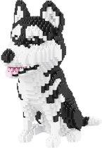 Balody Husky - Nanoblocks - bouwset / 3D puzzel - 1900 miniblocks