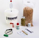 Starterspakket Stout Standaard | Zelf Lekker Bier Brouwen | Bierbrouw pakket | Cadeautip man | Brouwpunt, het startpunt voor bierbrouwers
