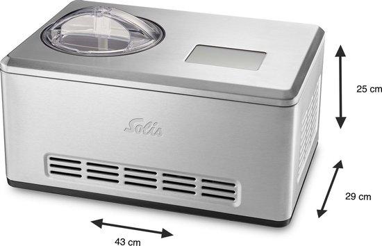 Solis Gelateria Pro Touch 8502 IJsmachine Zelf Vriezend - RVS