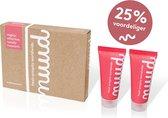 Nuud - Smarter pack (2 x 20ml) - De zorgeloze deodorant - Biologisch - 100% Vegan - Geen verstopping - Geen vlekken - Meerdere dagen werkzaam (3 tot 7 dagen, gemiddeld 3 dagen)