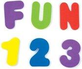 Afbeelding van Munchkin badeendje Badletters en Nummers - badartikelen speelgoed