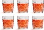Libbey Waterglas Atik - 230 ml / 23 cl - 6 Stuks - Vaatwasserbestendig - Vintage design - Hoge kwaliteit