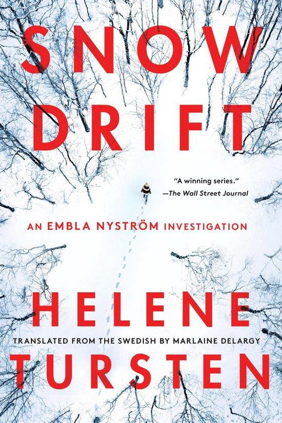 Boek cover Snowdrift van Helene Tursten (Paperback)