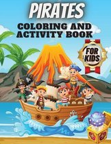 Pirates Coloring And Activity Book For Kids