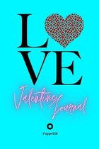 Valentine Journal for girls ages 8+- Girl Diary -Journal for teenage girl - Dot Grid Journal - 122 pages -6x9 Inches