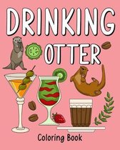 Drinking Otter Coloring Book