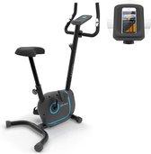 Klarfit Myon Cycle hometrainer - 12kg vliegwielmassa - weerstand 8 standen - magnetisch remsysteem - SmartCardio Studio met tablethouder en Kinomap-app