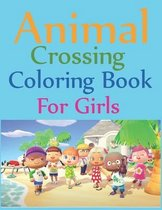 Animal Crossing Coloring Book For Girls