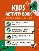 Kids Activity Book Games, Puzzles And More
