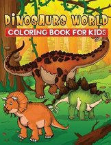 dinosaurs world coloring book for kids