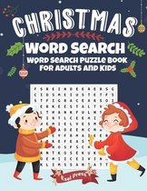 Christmas Word Search - Word Search Puzzle Book For Adults And Kids