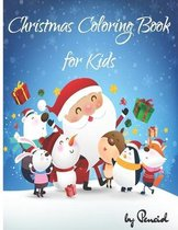 Christmas coloring book for kids: Children's Christmas Gift or Present for Kids Ages 6-10, 8-12, boys, girls -50 pages - BONUS a page with SANTA'S FAC