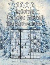 1000 leichte Sudoku Ratsel fur Weihnachten