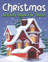 Christmas Activity Book For Teens