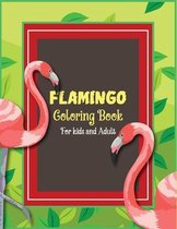 Flamingo Coloring Book for kids