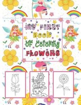 My First book Of coloring Flowers