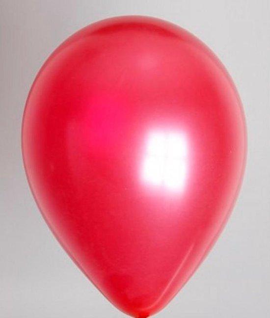 Zak Met 100 Ballons  Metallic Fuchsia 30cm