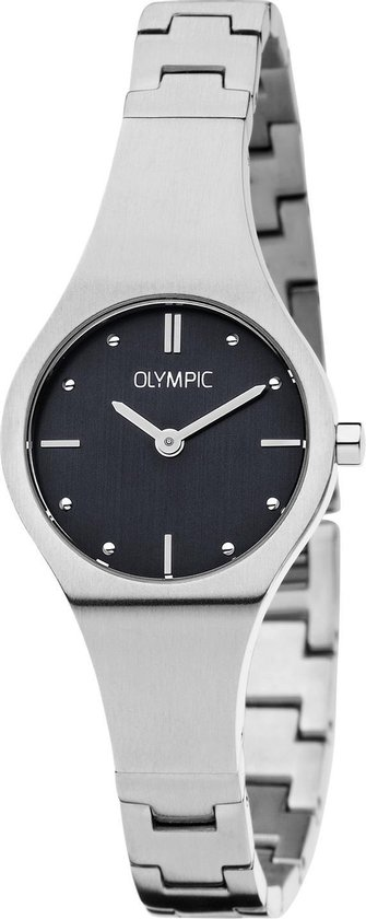 Olympic OL88DSS001 Horloge – Staal – Zwart – 26mm