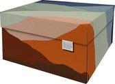 Dutch Design Brand - Dutch Design Storage Box - Opbergdoos - Opbergbox - Bewaardoos - Aardlagen - Earth