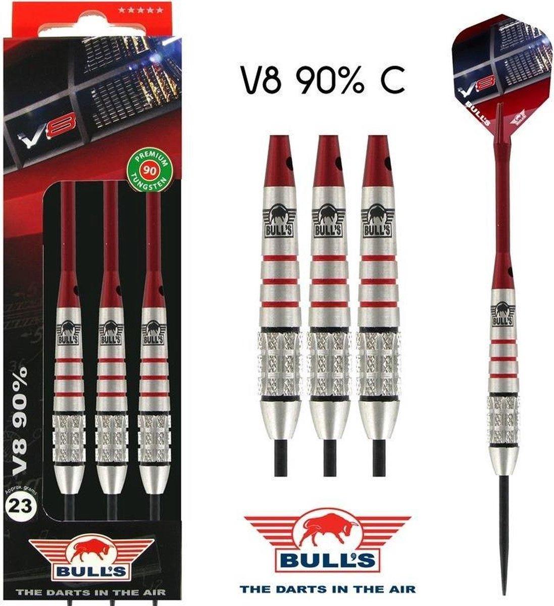 BULL'S V8 90% Tungsten dartpijlen - 26 gram