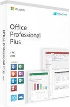 Microsoft Office 2019 Professional Plus -Voor 1 Wi