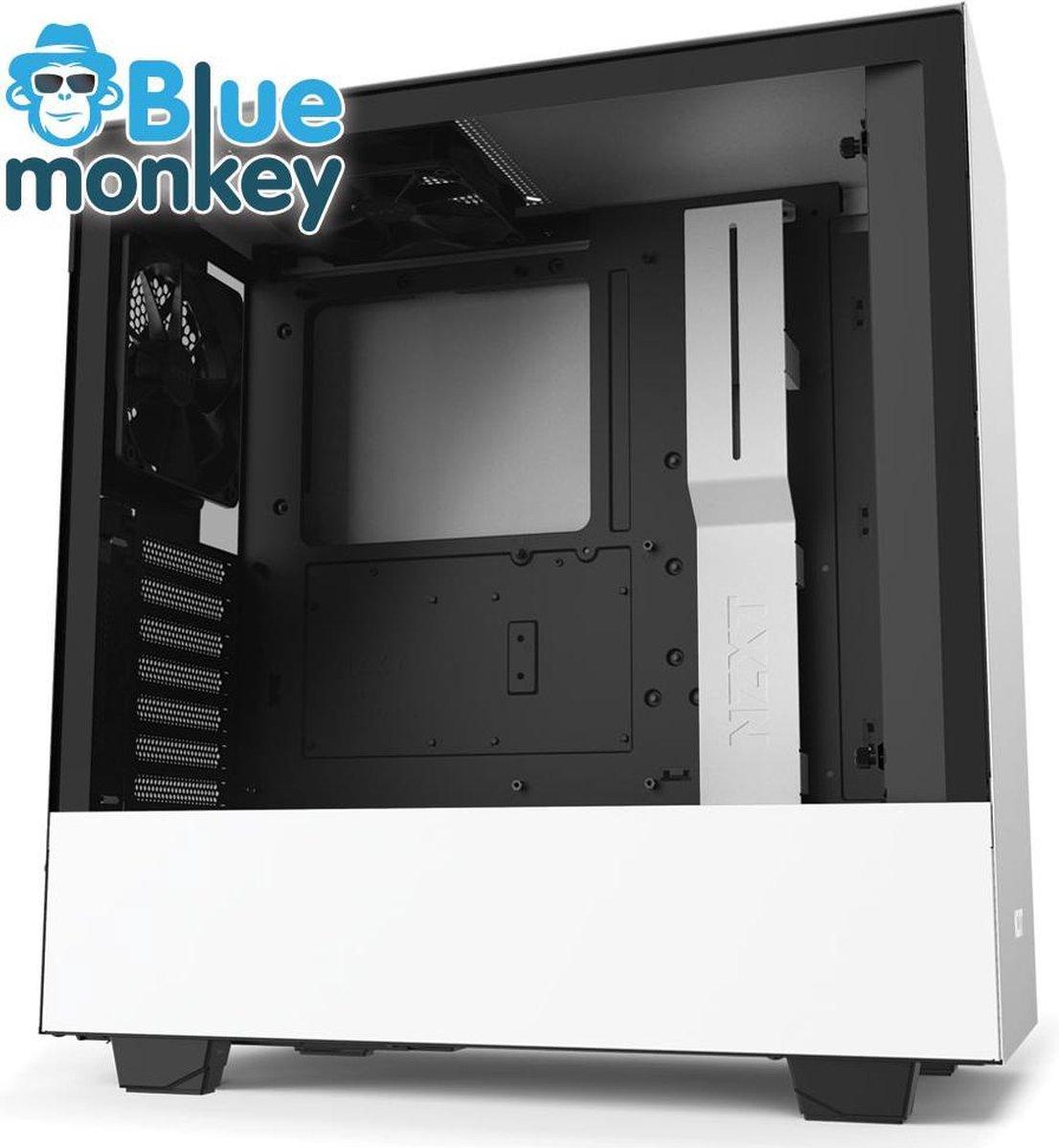Blue Monkey Game PC: i5 11400 - RTX 3060 Ti - 16 GB RGB DDR 4 - 1 TB M.2 SSD - M22 Kraken Waterkoeler