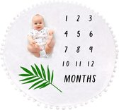 Mijlpaaldeken incl. frame - Milestone Blanket - Kraamcadeau - Babyshower - Gratis Groeiboek!