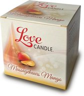 Loveglide Massage Oil Candle Mango