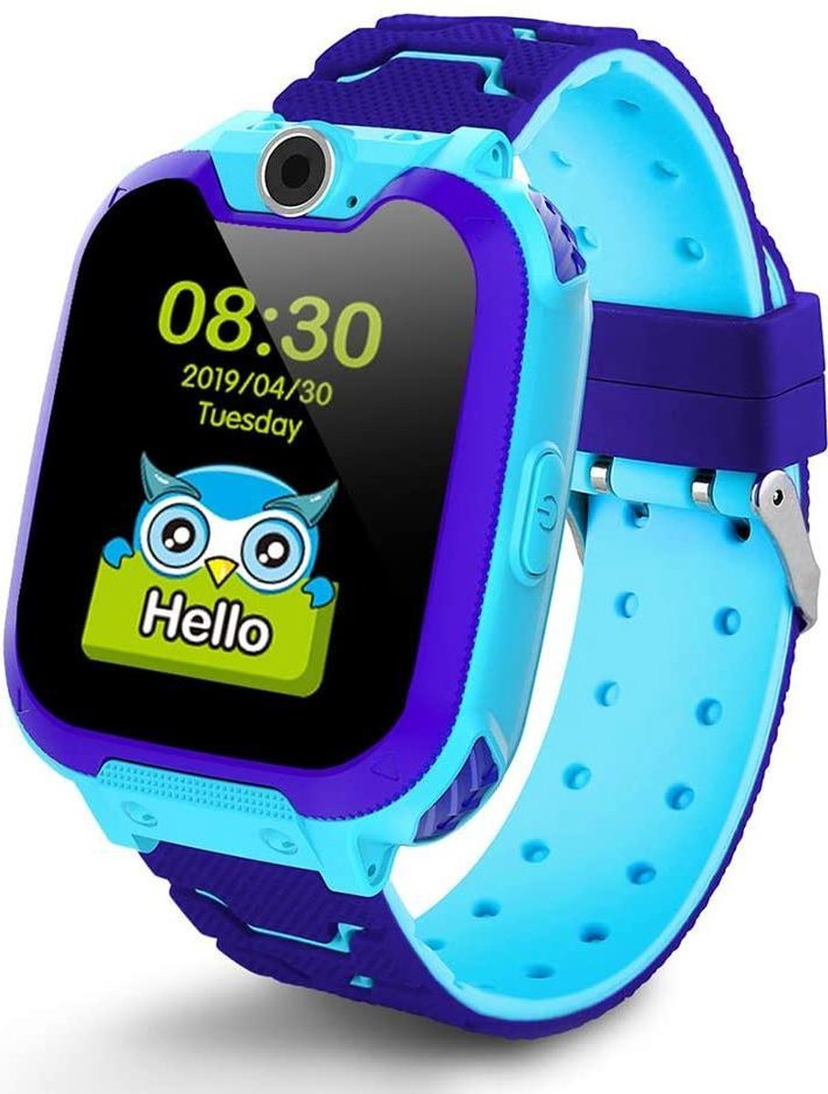 eXtremeWatches all-in-one Kinder Smartwatch Elite - Kinder Smartwatch - Smartwatch - Blauw