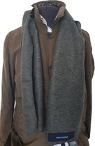 Bluvardi- Antipilling Fleece Sjaal - Grijs