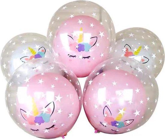 30 stuks Eenhoorn Ballonnen 15 x Dubbele lagen MagieQ Feest|Party|Kinderfeesje|Decoratie|versiering|Kerst|