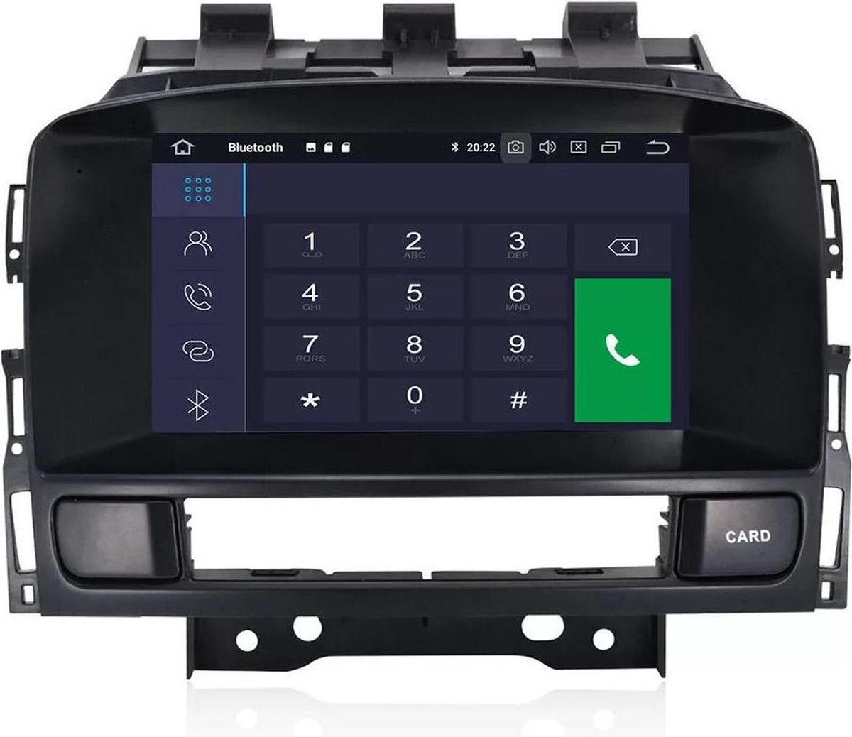 Opel Astra J 2009-2015 Android 9.0 navigatie 2+16GB