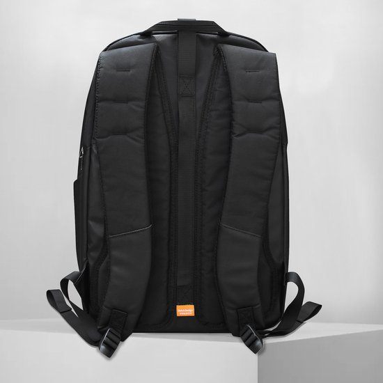 VRi Laptop rugzak Bagga 25L - 13 t/m 16 inch - waterafstotend - man/vrouw - zwart