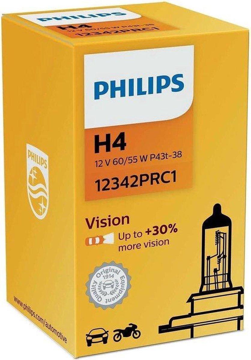 Philips H4 Vision - Autolamp  - 2 Stuks