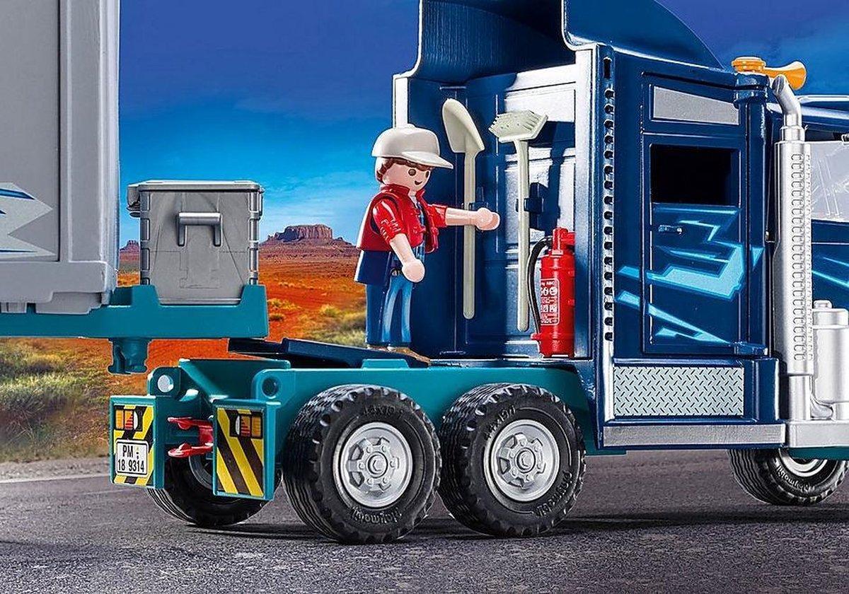 Playmobil vrachtwagen BIG RIG 9314