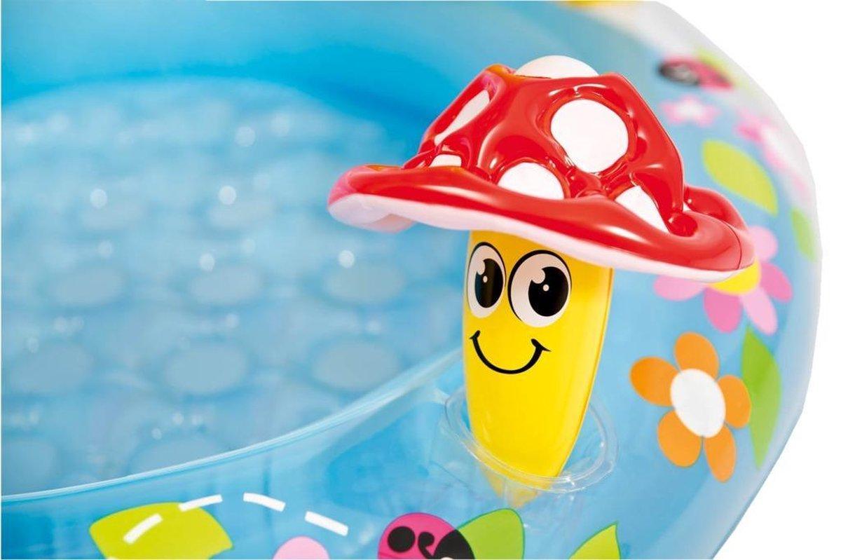 Intex 57114NP Paddestoel Baby Zwembadje 102x89cm