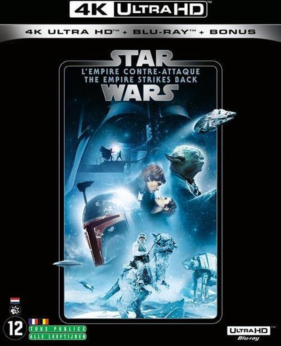 Star Wars: Episode V - The Empire Strikes Back (4K Ultra HD Blu-ray) (Import zonder NL)-