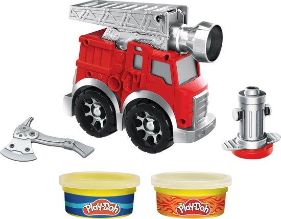 Play-Doh Wheels Brandweerwagen - Klei Speelset