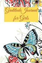 Gratitude Journal for Girls -170 pages- 6x9-Inches