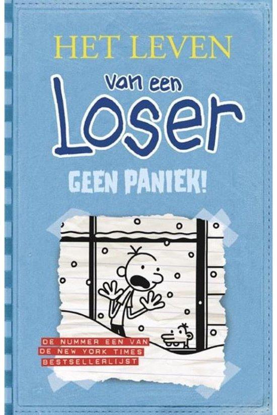 Boek cover Het Leven Van Een Loser 6 Geen Paniek van Jeff Kinney