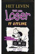 Boek cover Het leven van een Loser 10 -   Ff offline van Jeff Kinney (Hardcover)